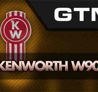 Мод GTM Kenworth W900B  для Американ Трек Симулятор 2 (ATS)