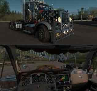 Мод Kenworth W900 Tuned 1.31 Truck  для Евро Трек Симулятор 2 (ETS 2)