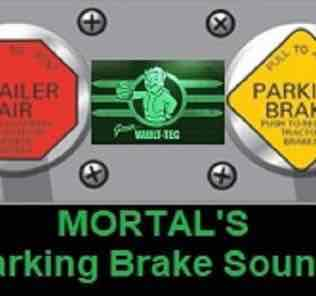 Мод MORTAL'S Parking Brake Sounds V1.0 ATS & ETS2  для Американ Трек Симулятор 2 (ATS)