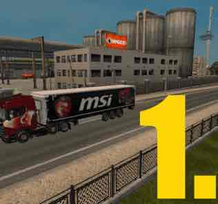 Мод MSİ TRAİLER  для Евро Трек Симулятор 2 (ETS 2)