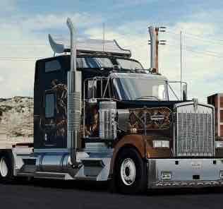 Мод SCS trucks extra parts  для Американ Трек Симулятор 2 (ATS)