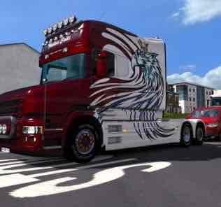 Мод Scania T_RJL_Longline_Walter Fritz  для Евро Трек Симулятор 2 (ETS 2)