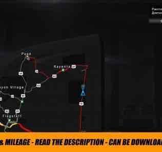 Мод Xenon Lights (10000K) + Realistic Time & Mileage (Link) v0.2  для Американ Трек Симулятор 2 (ATS)