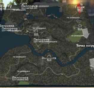 Мод Карта «Бухта Муравьиная» для SpinTires v03.03.16