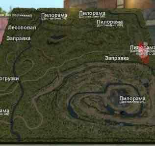 Мод Карта «Лес И Карьер» Версия 5 Final для SpinTires v03.03.16