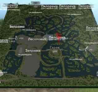 Мод Карта «Level 34» для SpinTires v03.03.16
