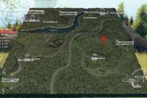 Мод Карта «Неполный Привод» для SpinTires v03.03.16