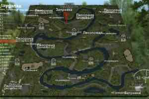 Мод Карта «Тайганка» для SpinTires v03.03.16