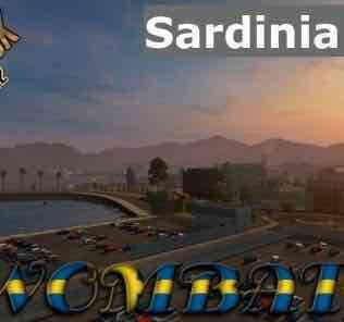 Мод Sardinia Map Add-On V0.9.1 [1.32]  для Евро Трек Симулятор 2 (ETS 2)