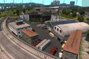 Мод Warehouse Geneve V2.0  для Евро Трек Симулятор 2 (ETS 2)