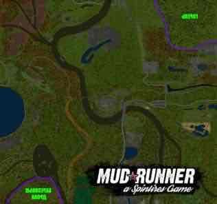 Мод Карта Доставка Дров для SpinTires MudRunner v18.10.18
