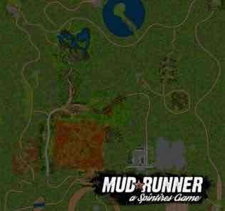 Мод Карта Грязь для SpinTires MudRunner v18.05.21