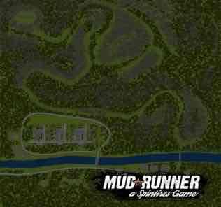Мод Карта Закарпаття 2. За Ходками для SpinTires MudRunner v18.05.21